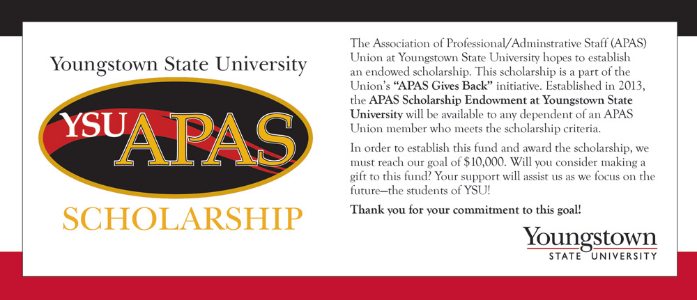 APAS Scholarship Pledge